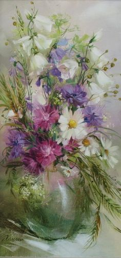 by Anna Homchik ~ Ukrainian painter