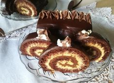 Rolada Huragan z japońskim biszkoptem Nutella, Pancakes, Muffin, Breakfast, Food, Baking, Morning Coffee, Bread Making, Muffins