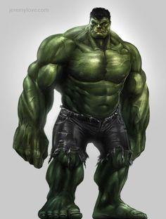 Avengers Game Concept Art: Hulk