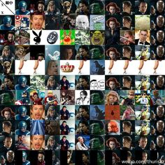 How Avengers look about eachother