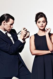 Matt Smith and Jenna-Louise Coleman.