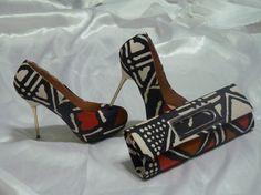 Chaussure en BOGOLAN by nanawax on Etsy, €130.00($169.65)