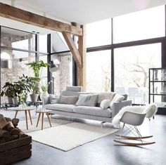 It's very much a style that invites the outdoors. Scandinavians live in darkness for many months of the year, so sunlight is invited in with big windows that usually don't have curtains.