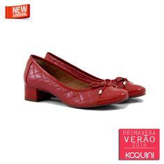 Saltinho matelasse vermelho, que tal? #koquini #sapatilhas #euquero #saltinho Veja mais em: http://koqu.in/1KqrAx9