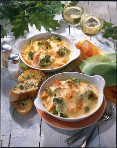 Unser beliebtes Rezept für Gratinierte Broccoli-Pfännchen und mehr als 55.000 weitere kostenlose Rezepte auf LECKER.de.