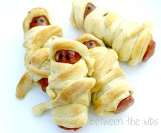 Mummy Dogs Easy Halloween Recipe | #Halloween #Recipe