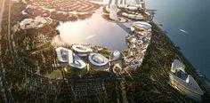 HOK designed this landmark ecotourism destination on Taihu Lake in eastern China.