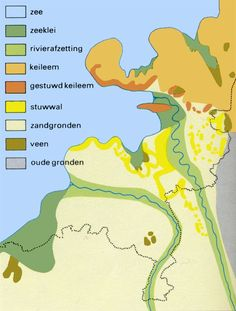 Nederland tijdens het Eemien. Country Maps, Low Country, Topographic Map, Historical Maps, Old Maps, European History, Map Art, Netherlands, Holland