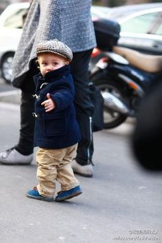 stylish little one #boy #moments