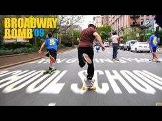 oh my most amazing video! I am a big fan of longboarding and thought it amazing to do this! They stopped cars!! :D