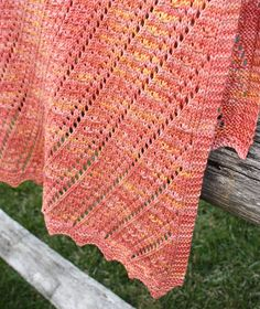 Cielito is a versatile baby blanket inspired by the dancing clouds and bright stars of an endless sky. It features a zig zag garter stitch border at top and bottom, framing a complimentary central stitch pattern--diagonally traveling columns of eyelets bordered by small star stitches. The sample was worked up in a tonal yarn, but try a tweed or heathered yarn for a different look!