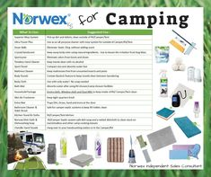 Norwex for Camping!