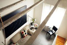 La casita del árbol   RÄL167 - Interiorismo, decoración, reforma y diseño de interiores Loft, Bed, Furniture, Home Decor, Apartments, Interior Design, Home, Houses