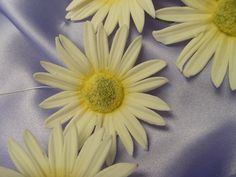 edible large daisies wedding cake