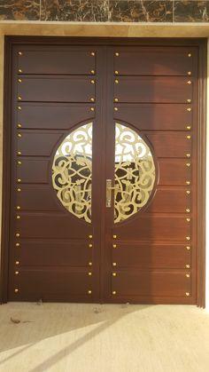 Pin By Mohd El On Doors Puertas Principales Puertas Puertas Exterior Wooden Main Door Design, Double Door Design, Main Gate Design, Door Gate Design, Entrance Design, Front Door Design, Pooja Room Door Design, Door Design Interior, Interior Doors