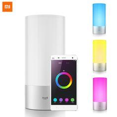Yeelight смарт Оригинальный Сяо ми Свет 16 RGB Lights Сенсорное Управление OSRAM Ночники Bluetooth для Телефона App Контроллер #xiaomi #aliexpress #gadgets #Алиэкспресс