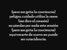la conciencia - gilberto santa rosa (letra) Love this song !