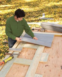 How to Build a Trash Shed - This Old House
