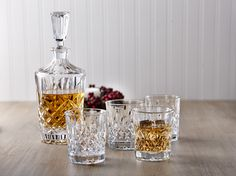 Our Dublin carafe and set of old fashion glasses are great for any hard liquor lover in your life. Carafe, Dublin, Holiday Gifts, Liquor, Gift Ideas, Mugs, Glasses, Tableware, Life