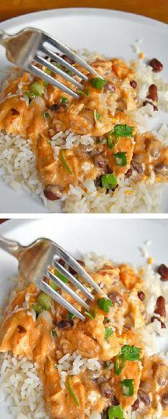 Food & juices: Salsa Chicken (Slow Cooker)