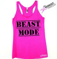 Beast Mode Gym Workout Tank for Women
