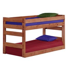 Twin Over Twin Junior Bunk Bed by Chelsea Home