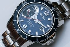 Seiko Sportura Kinetic Direct Drive SRG017 Watch Hands-OnSeptember 16, 2014, 7:30 am