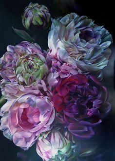 gallery - marcella kaspar this website is beautiful. Art Floral, Rose Art, Botanical Art, Painting Inspiration, Color Inspiration, Amazing Art, Fine Art America, Beautiful Flowers, Illustration Art