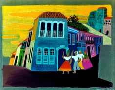 disney concepts & stuff : Photo Visual Development from The Three Caballeros by Mary Blair