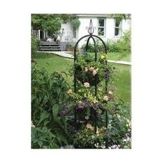 $57.00 Gothic Garden Decor   Cast Iron French Urn | Staceyu0027s Whitby  Dreamhouse   Garden And Greenery | Pinterest | Gardens, Black Flowers And  French