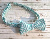 Fully Adjustable Mens Bowtie in Teal Mod!! Only $14.99!!!!  www.etsy.com/shop/modebows