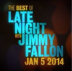 This Sunday (1/5) at 9 PM EST we're airing a 2-hour Best of Late Night Special! So excited!