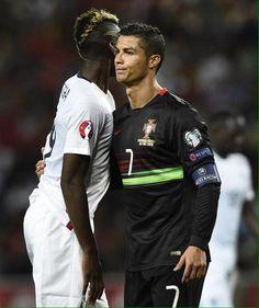 Cristiano Ronaldo & Paul Pogba.