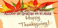 Acción de Gracias en el aula