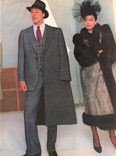 CHRISTIAN DIOR FURS F/W 1982 / 1983 : KELLY LEBROCK in black fox fur. 10.jpg Photo by guynlgbch | Photobucket