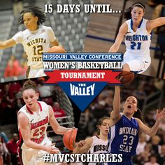 Wichita State, Creighton, Illinois State and Indiana State are the top 4 teams. Will they still be the top 4 teams in 15 Days? #MVCStCharles