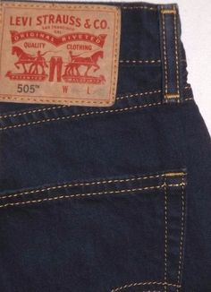 a132f12f Levi's 505 Regular Fit Mens Jeans Levis Jeans, Jeans Fit, 40 Years, Stretch