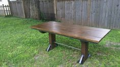 Check out this item in my Etsy shop https://www.etsy.com/listing/240894034/table-reclaimed-oak-top-1-12-thick-can