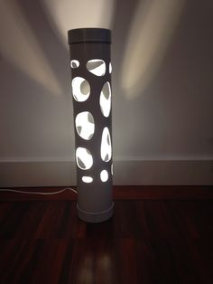 Awesome design lamp lighting voronoi parametric pvc diy