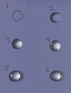 How to pain raindrops or water droplets