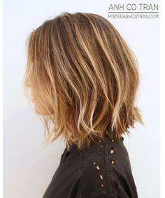 Cieniowane, półdługie włosy. Ta fryzura jest hitem! - Strona 14