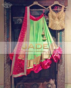 ecc04202a327e0 Jade- simple classy yet contemporary. Description by Pinner Mahua Roy  Chowdhury