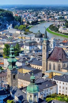 Salzburg, Austria - Oh my gosh...I seriously would drop everything to go here...Sound of Music Tour here I come!!!!...one day!