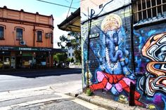 Newtown, Sydney Graffiti Art Print