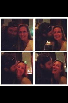 awww they're so adorable!!! :P they are such a wonderful role model for marriage!!! <3 <3 <3