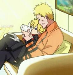 Boruto and Naruto #Naruto