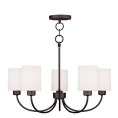 $215 guest and office? Sussex Bronze Five Light Chandelier