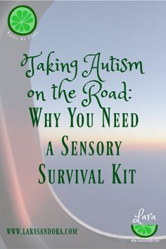 Why you need a Sensory Survival Kit to travel with your family member with special needs.  #autismtravel #refreshblog