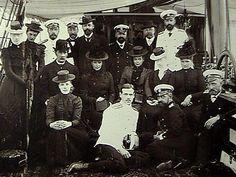 Photograph of Nicholas II family on board of the yacht TSAREVNA, 1899