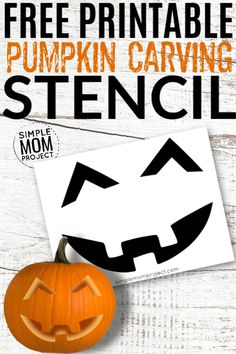 Looking for a creative and unique pumpkin carving stencil to do at your pumpkin carving party? Look no further. These pumpkin carving stencils are simple, cute, funny, scary, for kids and adults. There's 15+ printable pumpkin patters are perfect for the whole family! #Halloween #PumpkinCarving #PumpkinTemplates #PumpkinStencils #PumpkinPartyIdeas